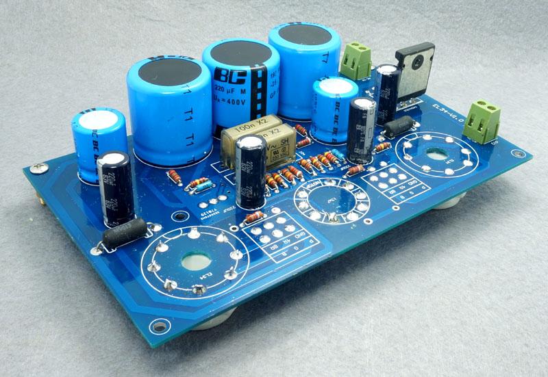 Details about Single ended Stereo 10 Watt Valve Audio Amplifier kit EL34  ECC83 board Tube Amp