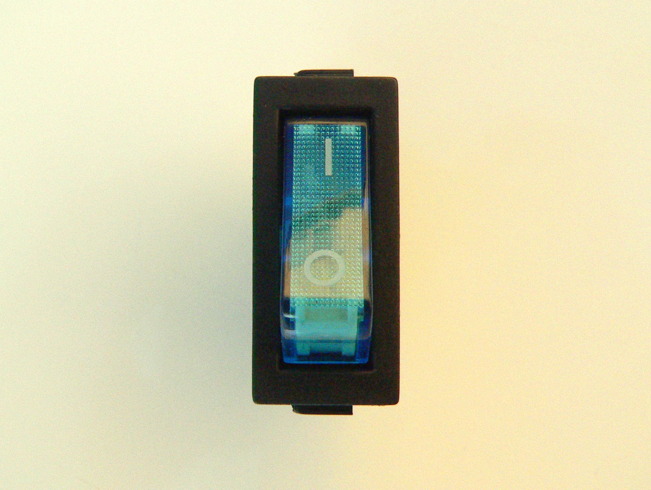 Blau Neon Strom Schalter für Gitarren Verstärker SPST Einpoliger | eBay