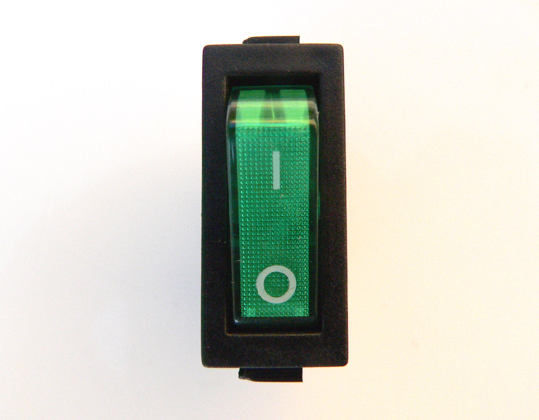 Grün Neon Strom Schalter für Gitarren Verstärker SPST Einpoliger | eBay